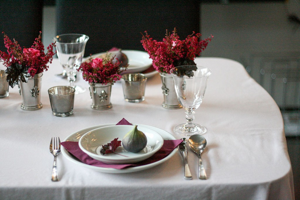 Fall table decoration set2
