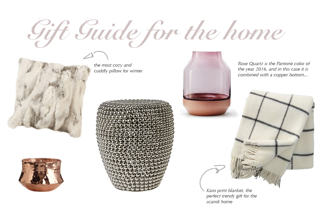 Gift guide for the home Christmas