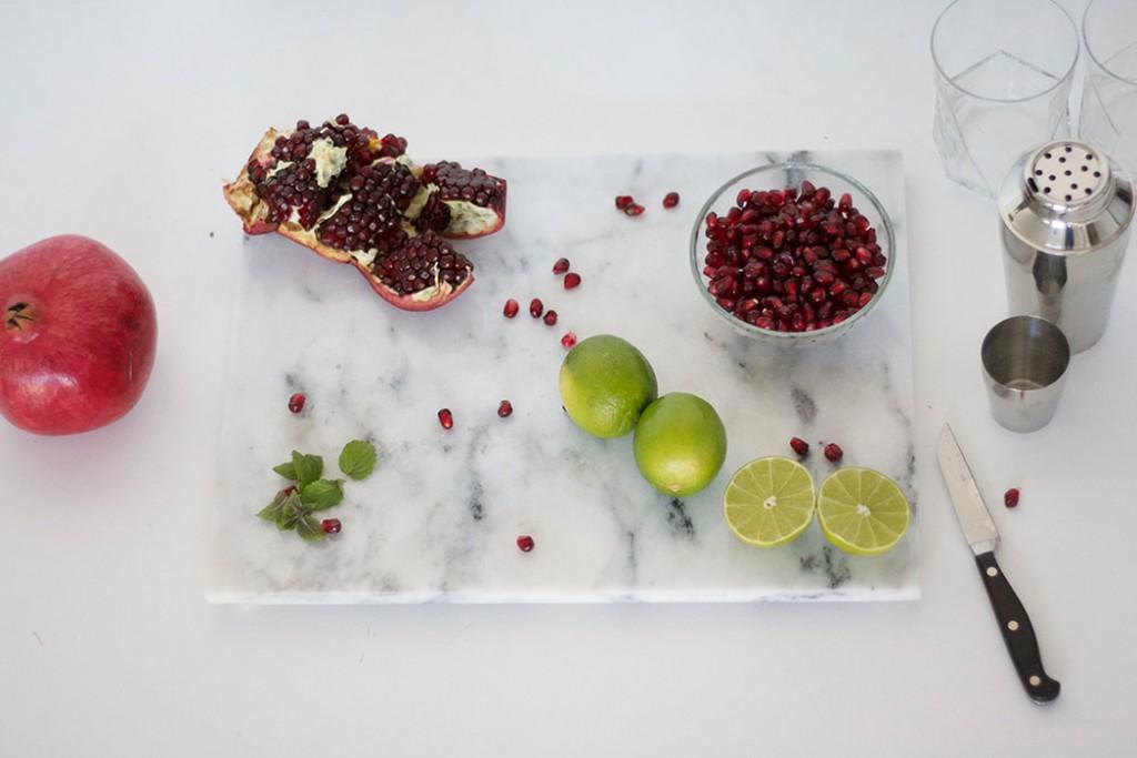 Granatapfel Cocktail Zutaten