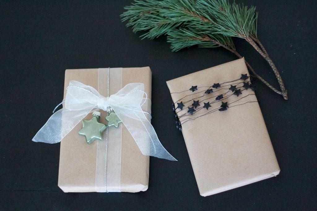 Geschenkverpackung Geschenke einfach verpacken - DIY Blog lindaloves.de