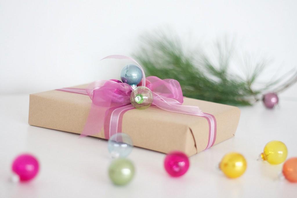 Pinke Geschenkverpackung