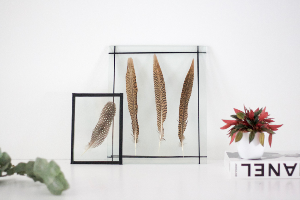 DIY DOUBLE GLASS FRAMES - PICTURE FRAMES SELFMADE