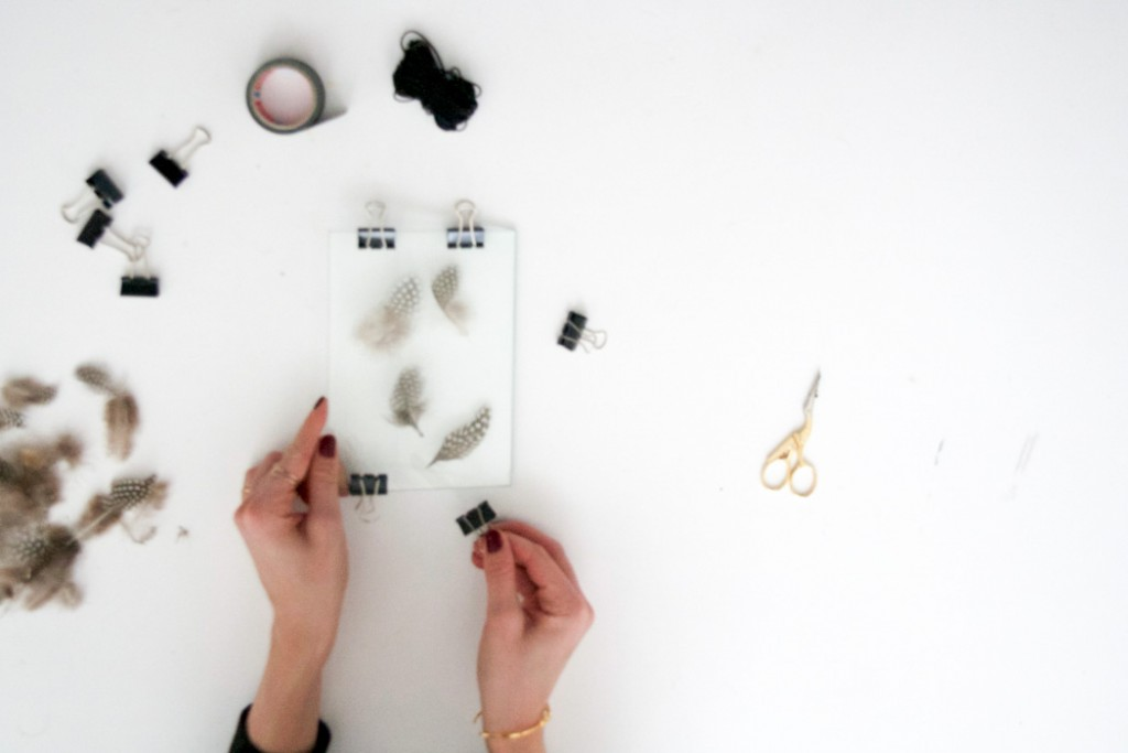 DIY - Federn im Doppelglasrahmen - Do it yourself Tutorial