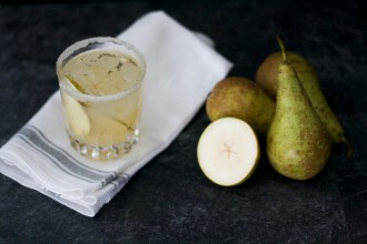 Pear Vanilla Vodka Cocktail