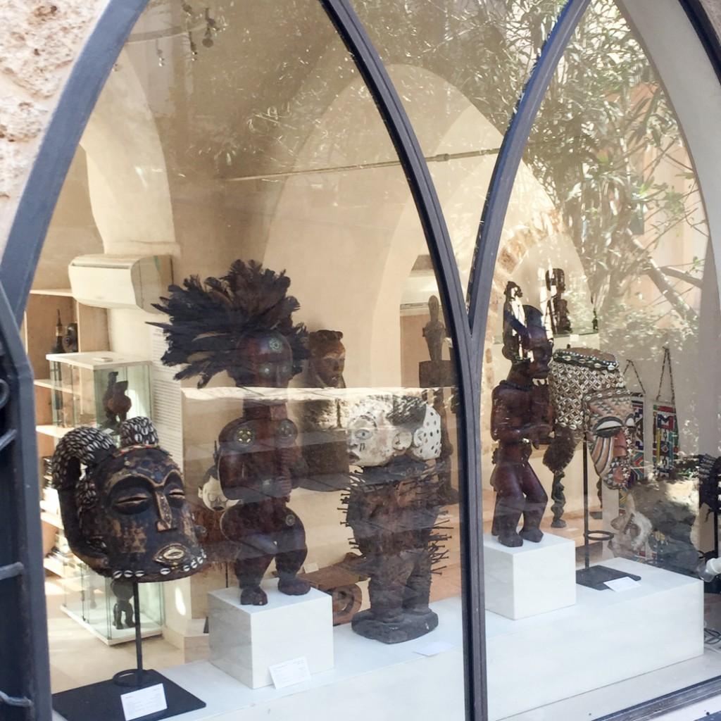Jaffa Tel Aviv Altstadt - african sculptures