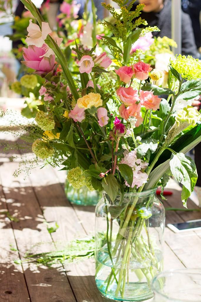 Bloomon Flower Workshop - full flower bouquet