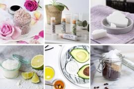Die schönsten Beauty DIY zum selber machen wie Lipbalm, Gesichtsmasken, Körperpeeling oder Seife