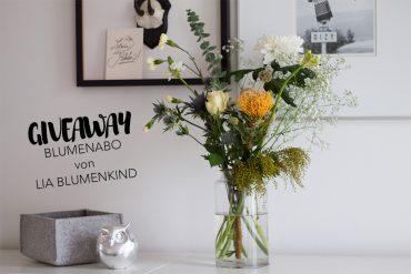 Blumenabo Lia Blumenkind - regelmäßige Blumenlieferungen direkt nach Hause - Abo gewinnen
