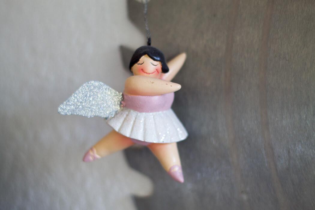Dicke Ballarina Pinnwand aus Sägeblatt - DIY Blog