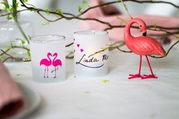 kreative Teelichter als sommerliche Tischdeko - DIY Blog lindaloves.de