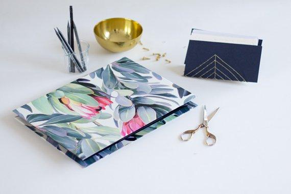 Paper Organiser - Organisationsmappe selber machen aus Papier und Pappe - DIY Anleitung lindaloves.de do it yourself Blog