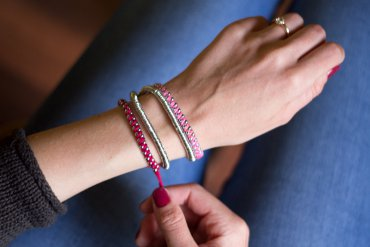 DIY Armband aus Silberringen - do-it-yourself Blog lindaloves.de Fashion Schmuck