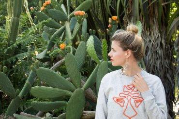 DIY Blog Pulli mit Kordel besticken Stickanleitung Fashion