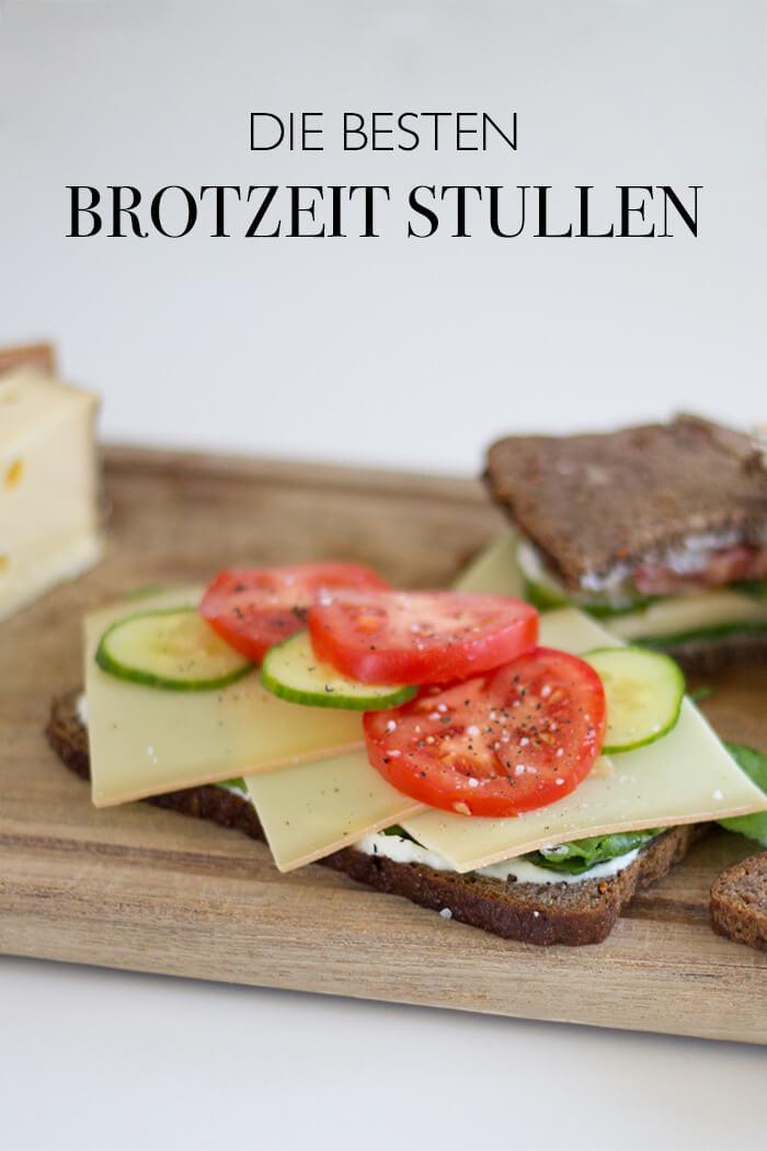 Die beste Brotzeitrezepte - Vesper mit Käse Tomaten und Gurken - DIY Blog lindaloves