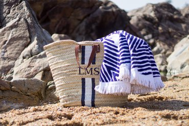 Beachbag selber machen DIY Blog lindaloves.de Fashion Mode