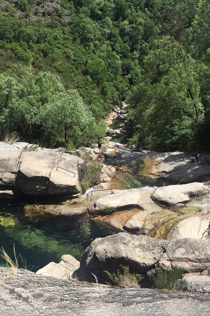 Wasserfall Nationalpark - Geres Portugal - DIY Blog lindaloves.de