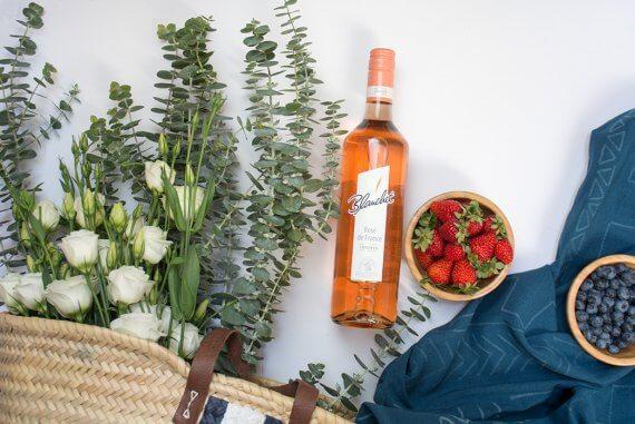 DIY Blog Mudcloth Picknickdecke - DIY Blog lindaloves.de