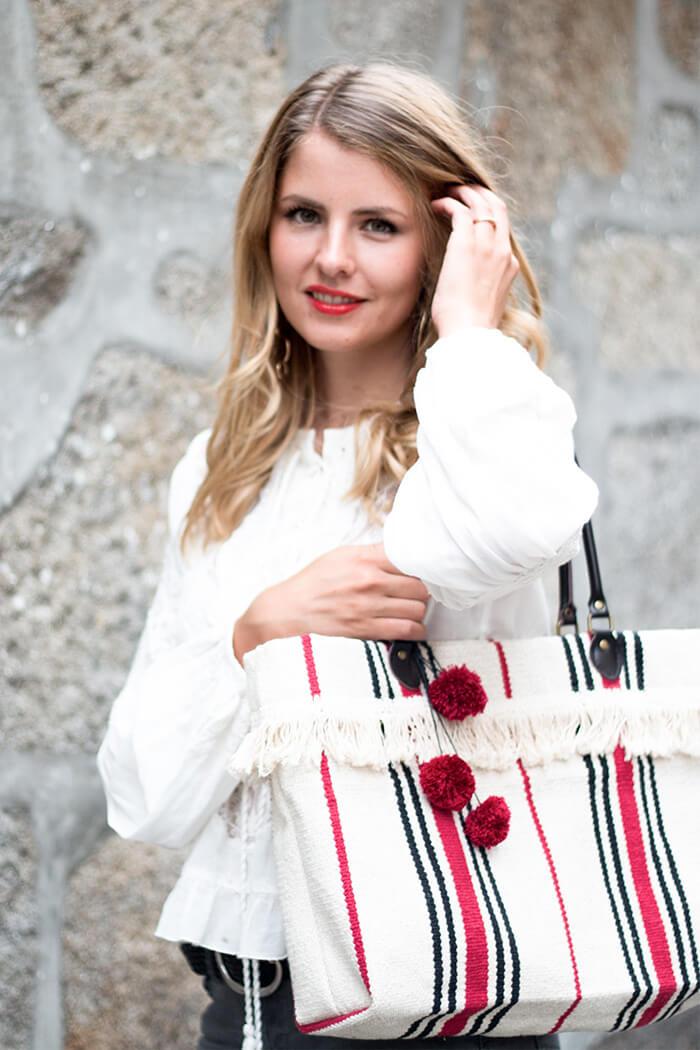 DIY IKEA Hack - Handtasche aus Teppich selber machen - Fashion do-it-yourself Mode DIY Blog