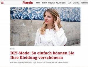 201708 DIY Mode - Kleidung verschönern - DIY Blog lindaloves.de