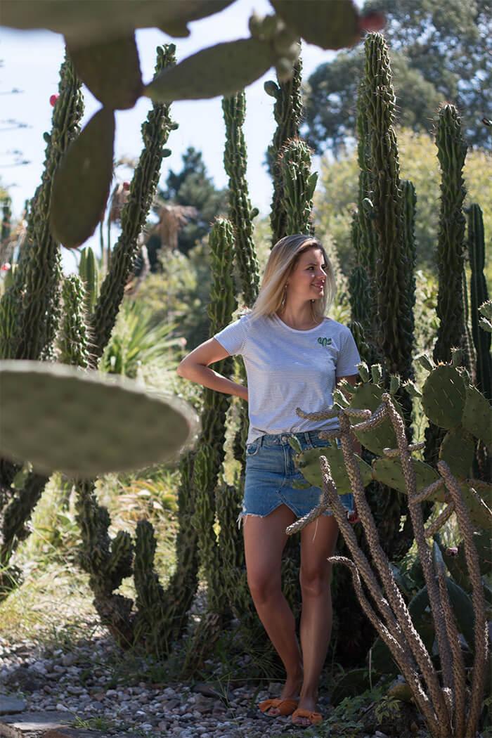 DIY Blog sticken lernen Kaktus Stickerei - Do-it-yourself Geschenke personalisieren