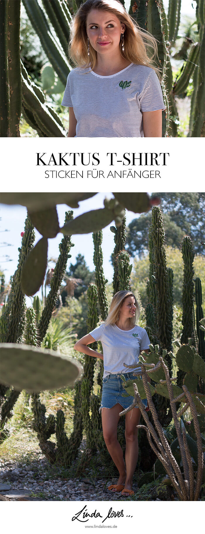 Kakatus sticken DIY Blog Anleitung Fashion Mode do-it-yourself