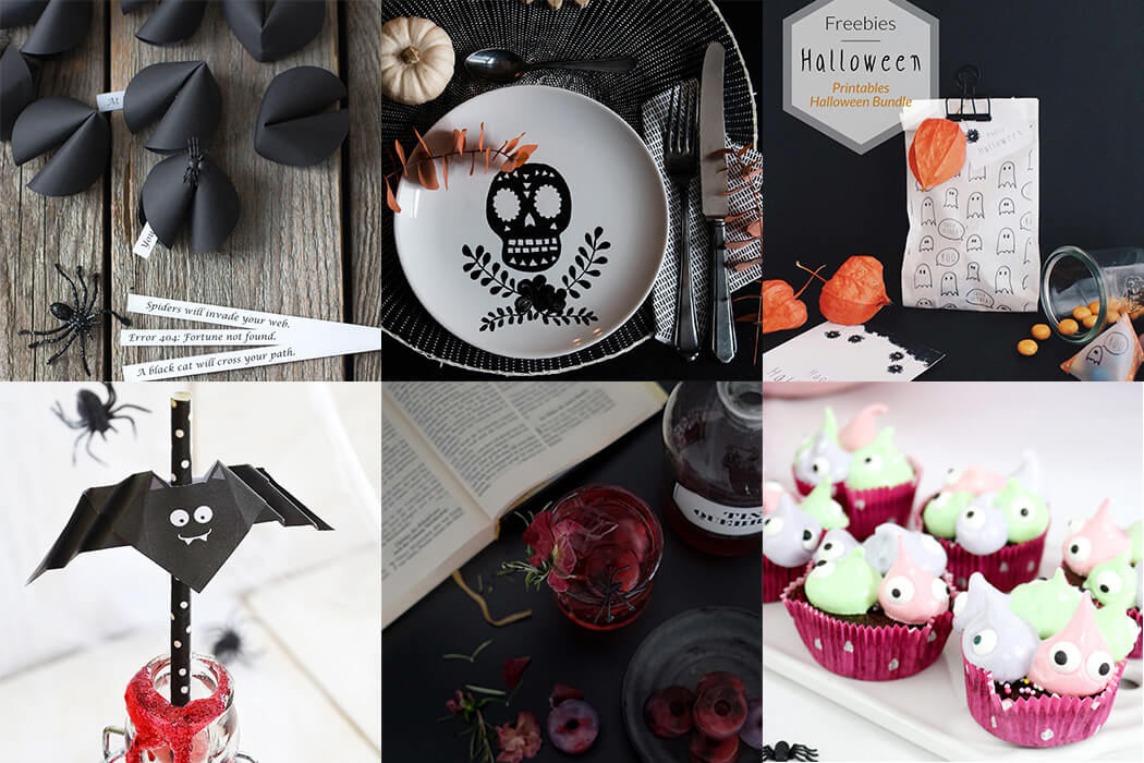 halloween diy ideen deko drinks und leckerein. Black Bedroom Furniture Sets. Home Design Ideas