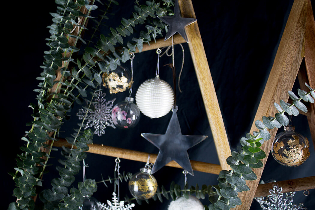 DIY Weihnachten Dekoidee mit Eukalyptus - Do-it-yourself Deko Blog