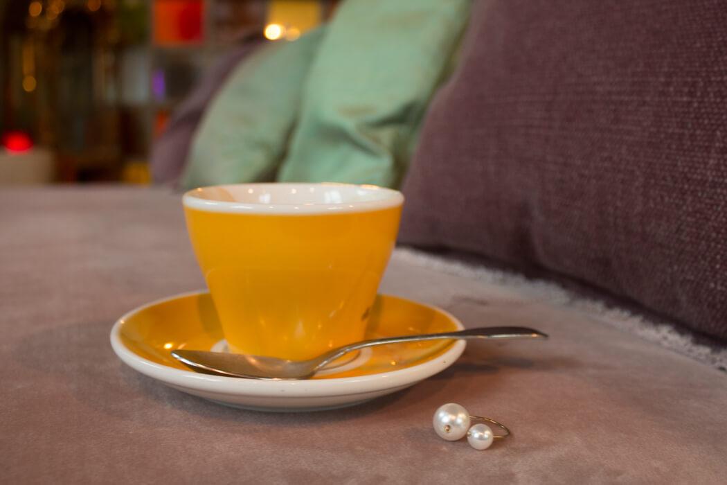 Schmuck selber machen DIY Perlen Fingerring selber machen - DIY Blog lindaloves.de München
