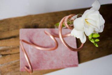 Material DIY Vase aus Kupferrohr - Deko DIY Blog