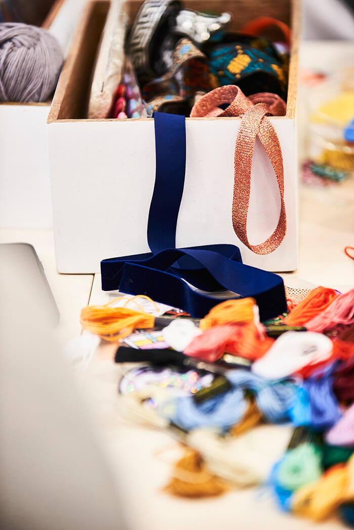 Upcycling Workshop Utensilien verzieren Kleidung - DIY Blog lindaloves