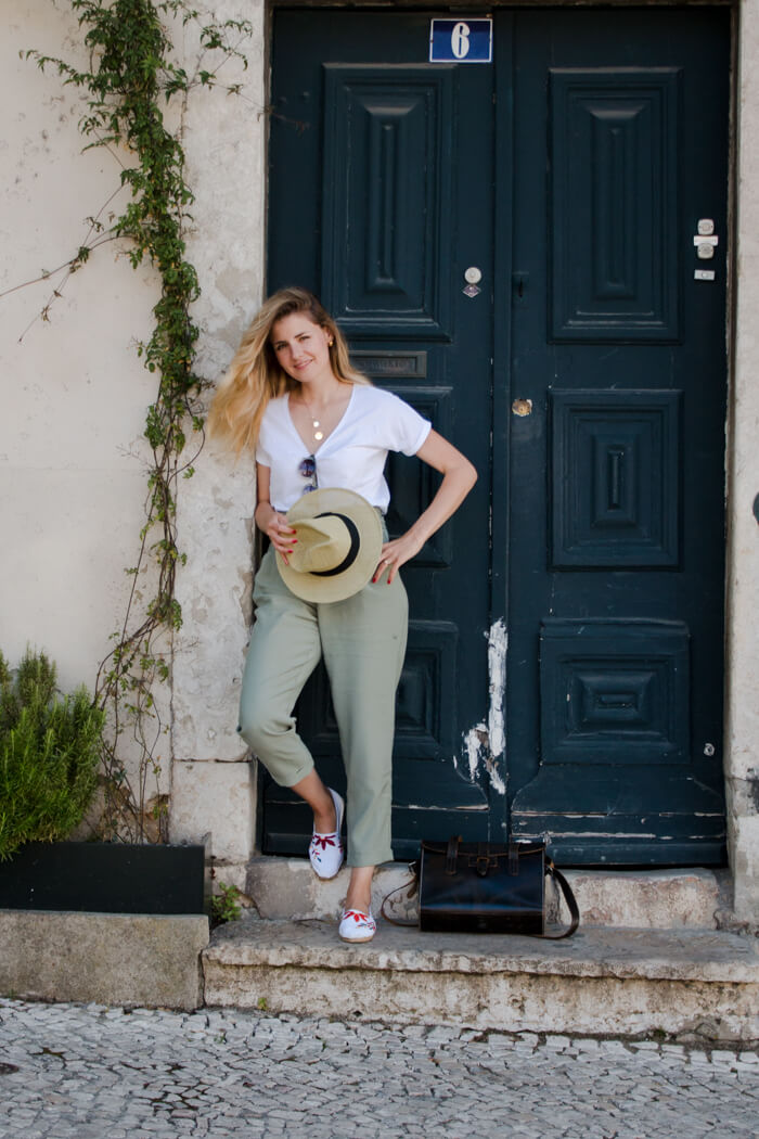 DIY Sticken lernen - Destination DIY Projekt Lissabon Portugal Sommer Schuhe Mode DIY Blog