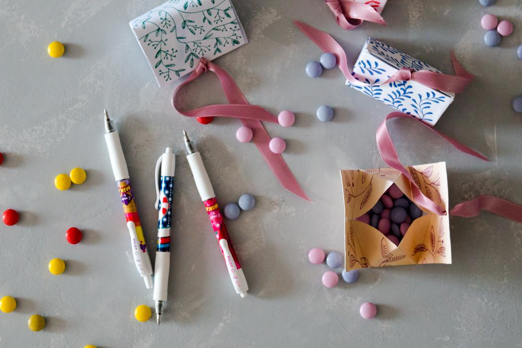 DIY Geschenkidee - Geschenkbox basteln - Vorlage zum falten gratis zum Download