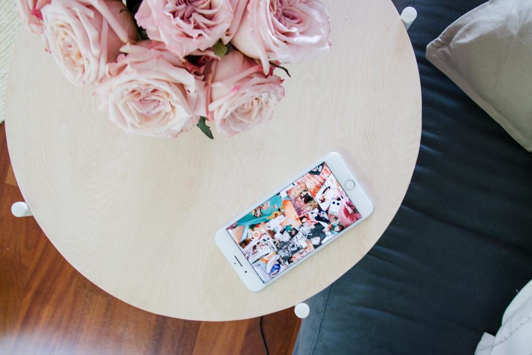 Diy Ikea Hack Beistelltisch Mit Ladegerat Smart Home